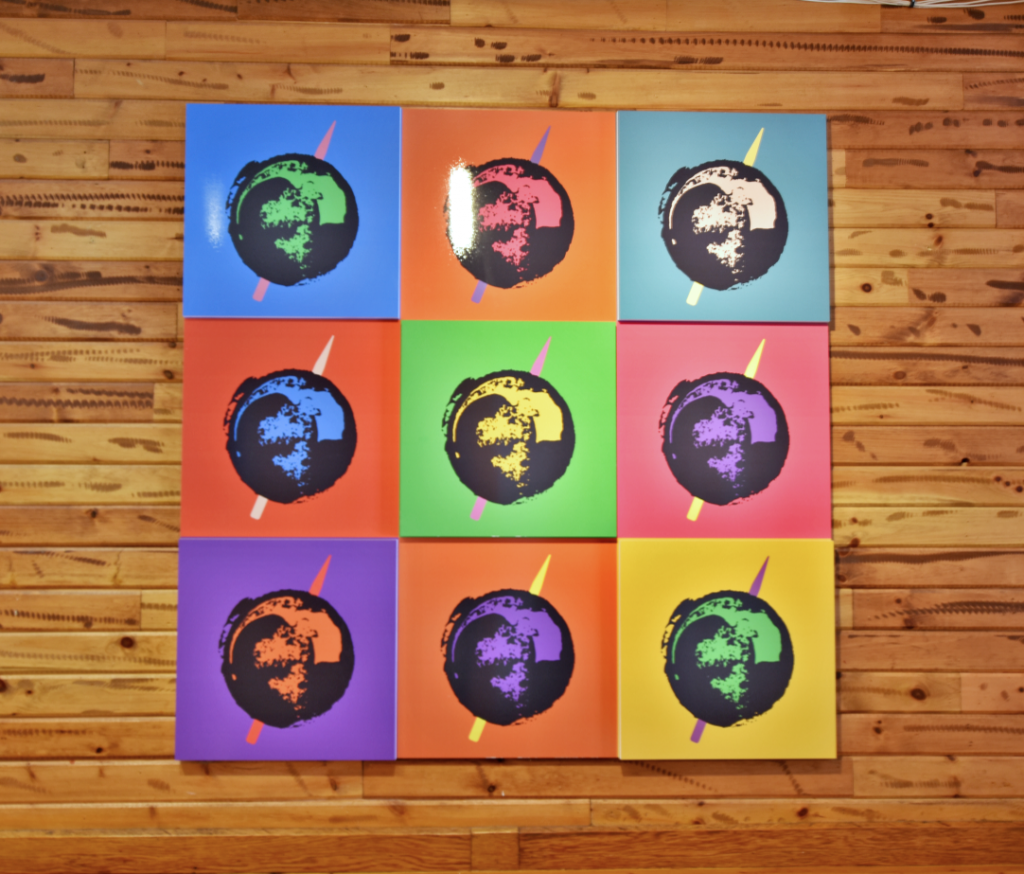 Direct print on acrylic board