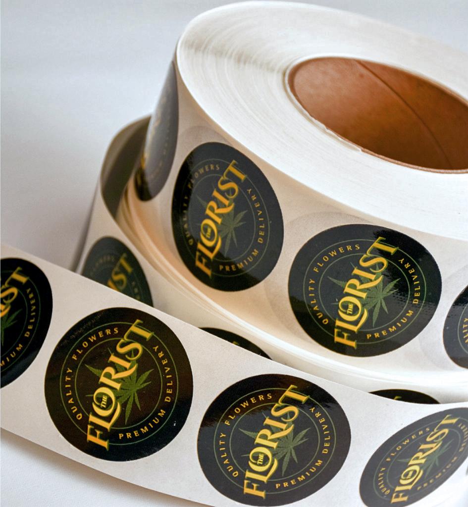 sticker roll print